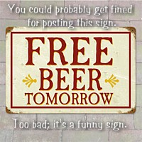 free-beer-bar-sign